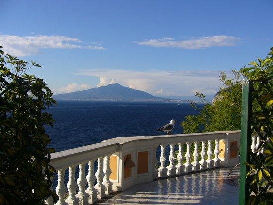 Hotel Parco dei Principi : Vue de notre chambre