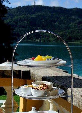 Schlossvilla Miralago: Kleiner Teil des ausgiebigen Frühstücks