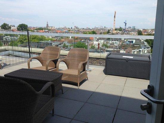 Amsterdam Downtown Hotel: Balcony