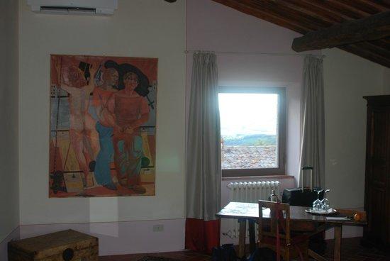 MsnRelais Rocca di Castagnoli: Superior room view to the west.