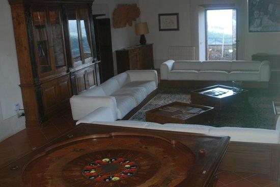 MsnRelais Rocca di Castagnoli: Lounge/ Shared Living Room 2nd floor