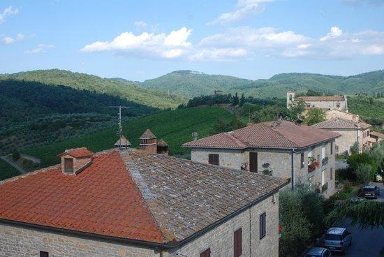 MsnRelais Rocca di Castagnoli : Superior room view to the east