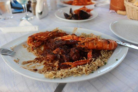 Roka Kafeneio Ouzeri: Mixed Seafood