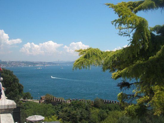 Hotel Empress Zoe: View from Topkapi Palace