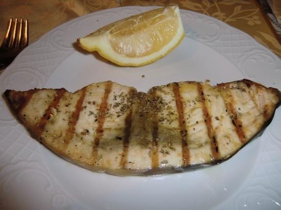 Ristorante Monte San Giuliano: pesce spada