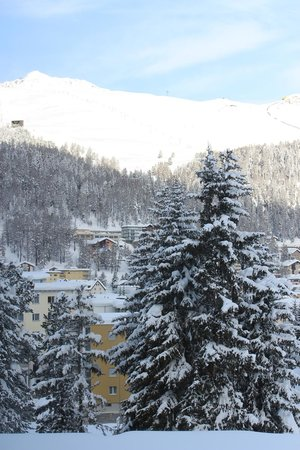 Club Med Saint Moritz Roi Soleil : View from Dinning room