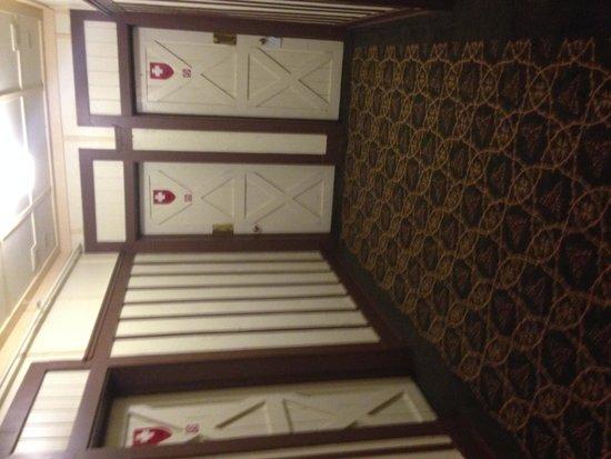 Many Glacier Hotel: Swiss Chalet theme
