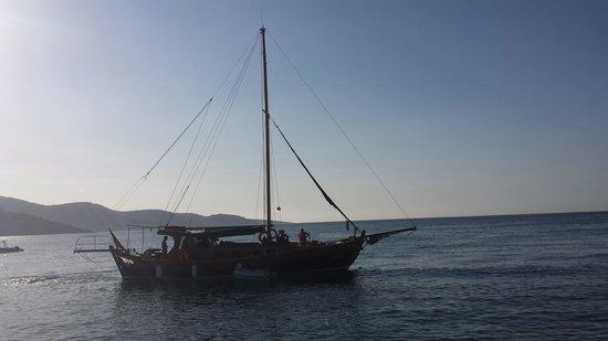 Hotel Samara: caicco per gite in barca