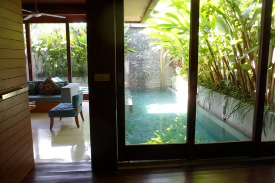 Maca Villas & Spa : view from the bed