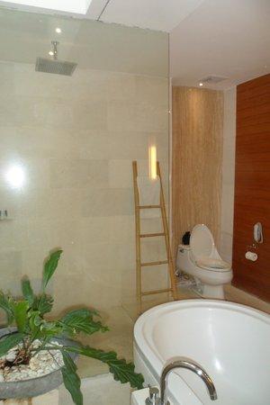 Maca Villas & Spa : bathroom in 1 bedroom villa