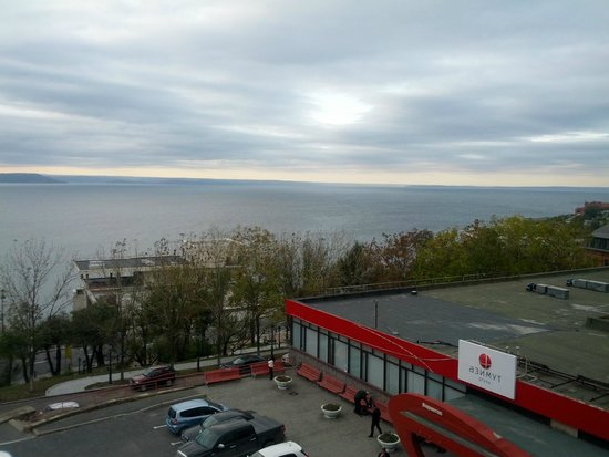 AZIMUT Hotel Vladivostok: Вид из окна