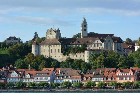 Burg Meersburg: Меерсбург, вид с озера