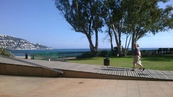 Prestige Coral Platja : vue de la terrasse de l'hôtel