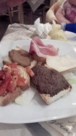 Osteria del Gusto: Bruschette