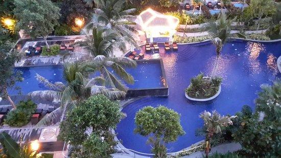 Ledong County, الصين: 酒店南泳池