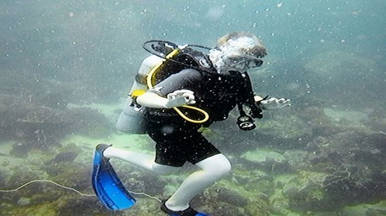 Koh Samui Easy Divers: getting the hang on things