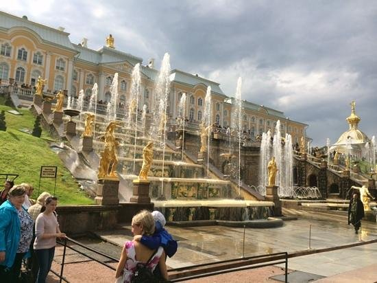 Palais de Peterhof : Peterhof fountains
