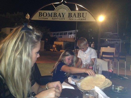 Bombay Babu: Tucking in!