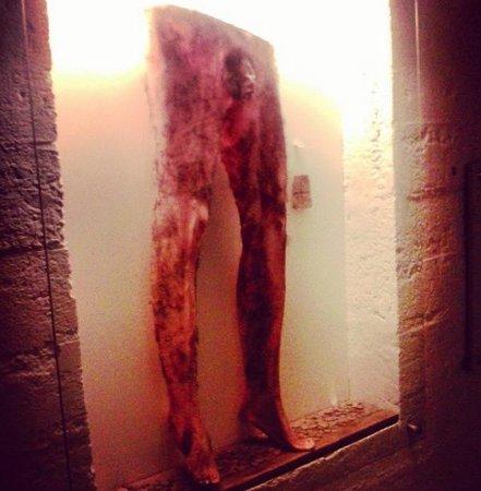 "Museum of Icelandic Sorcery & Witchcraft: Якобы снятые с человека ""кожаные"" штаны :)"