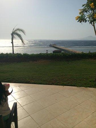 Cleopatra Luxury Resort Sharm El Sheikh: Views from sea view room