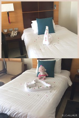 Cleopatra Luxury Resort Sharm El Sheikh: Made by Ahmed the housekeeper during our stay, kids loved it