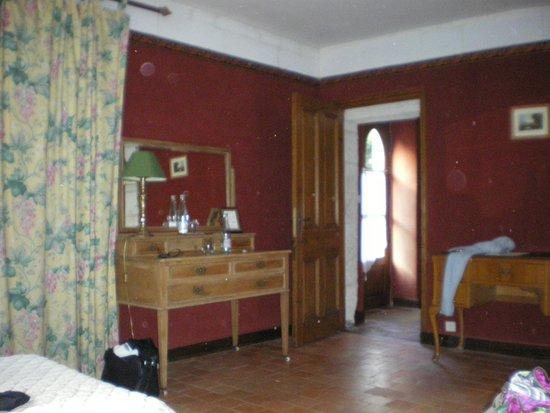 Chateau de Chissay : chambre