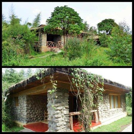 Mountain Gorilla View Lodge: Our bungalow