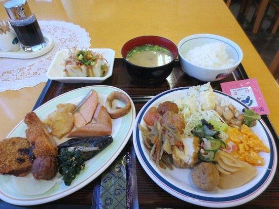 Isahaya Station Hotel: 朝食