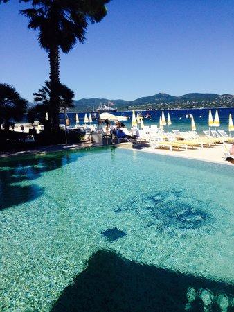 Hotel La Residence de la Pinede: Pool/beach