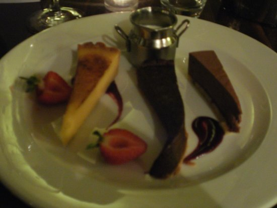 Old Swan & Minster Mill: Delicious dessert