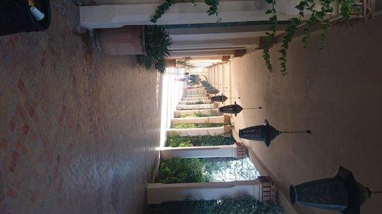 Club Med Marrakech La Palmeraie : club med Marrakech walk way to the restaurants