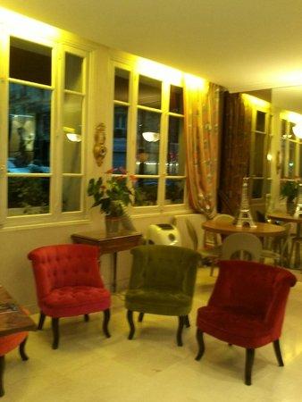 Eden Hotel Montmartre: hall