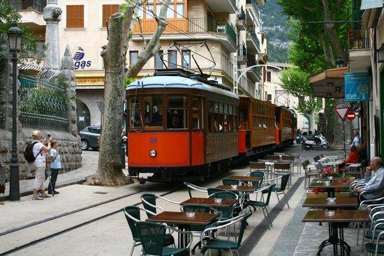 Tren De Soller: Tram at Soller
