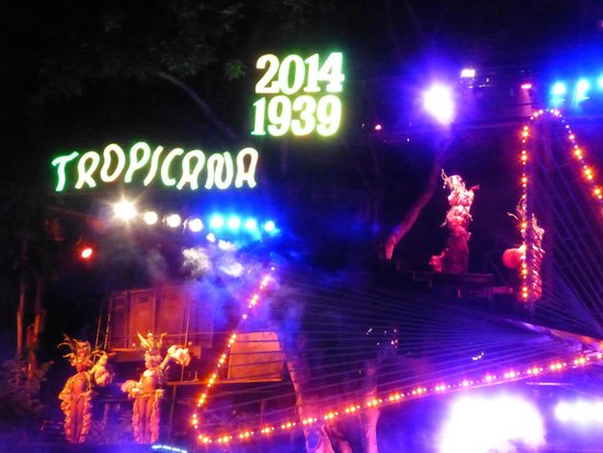 Hotel Inglaterra: Celebrating 75 years of Tropicana - great night out