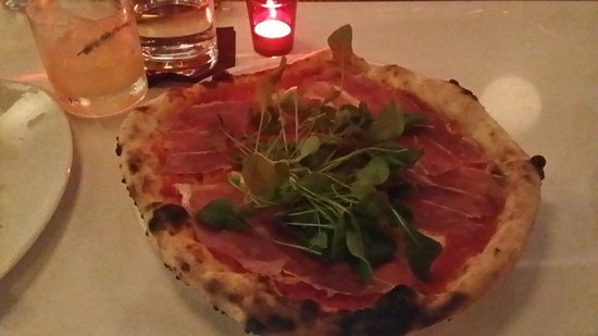 Nicli Antica Pizzeria: Prosciutto pizza. We would definitely get this pizza again.