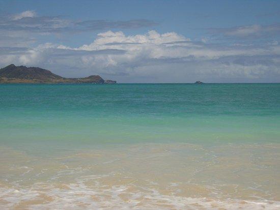 Kailua Beach Park: Quiet area of the beach