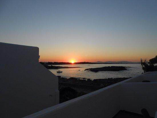 Hotel Roca Bella: Tramonto dall'hotel