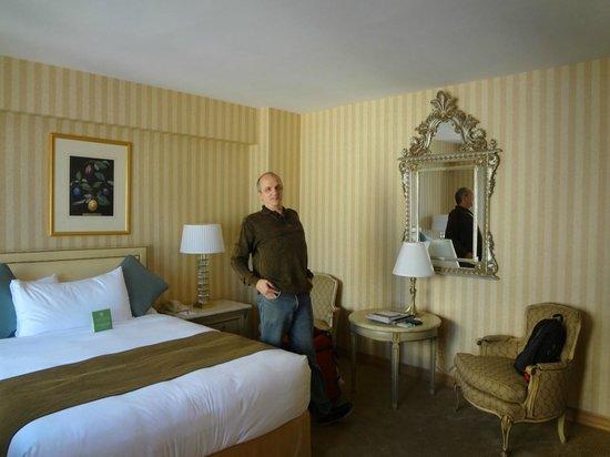 Park Lane Hotel: Visão do quarto