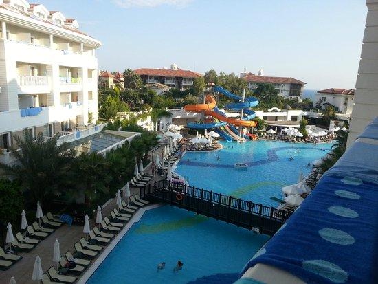 Alba Queen Hotel: stunning views