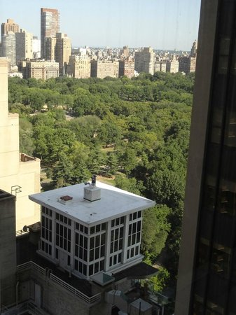 Park Lane Hotel: Vista do Central Park