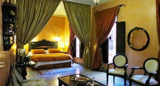 Dar Anebar : Notre charmante suite.