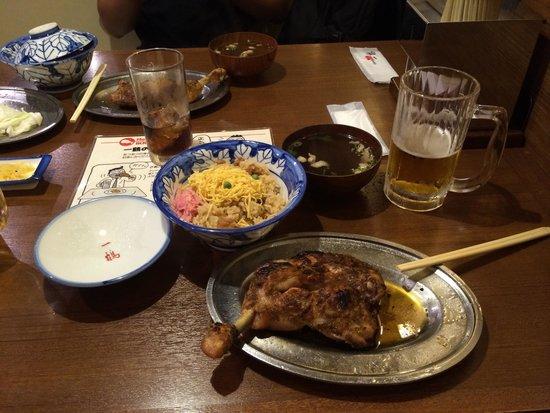 Ikkaku Takamatsu: Great meal for a reasonable price (2000 yen)