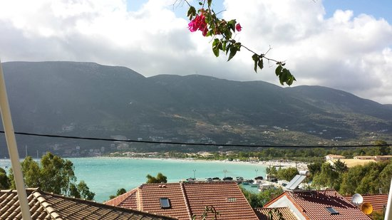 Vasiliki Blue: View from balcony