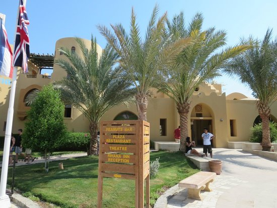 Three Corners Rihana Resort: Main entrance