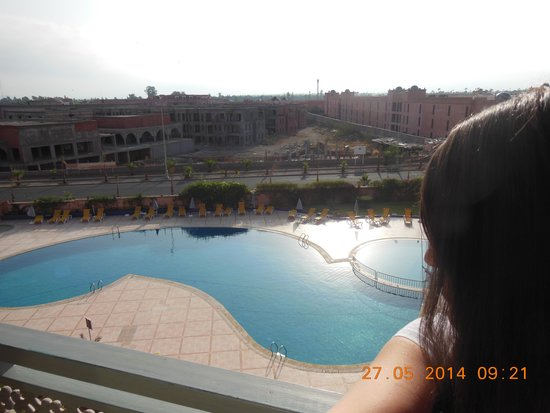 Ryad Mogador Kasbah : swimmigpool view