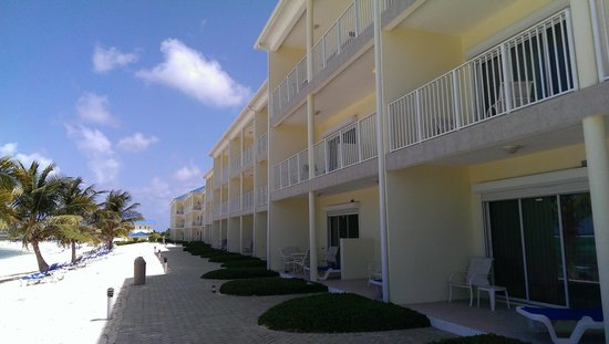 Wyndham Reef Resort : patio's