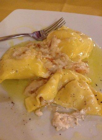 Osteria il Pozzo di Chiusure : with walnut sauce