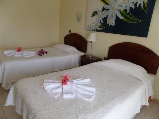 O'tai Hotel: muy comoda la habitacion
