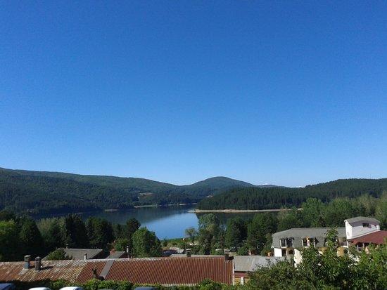 Residenza Lorica : vista lago Arvo