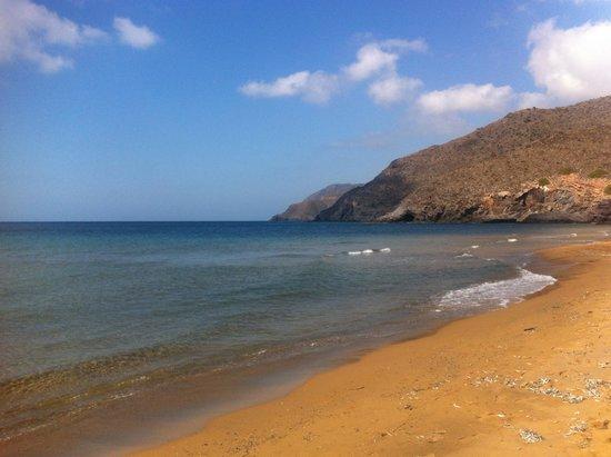 Playa de Calblanque: Playa Parreño
